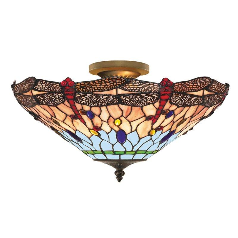Plafoniera Searchlight Dragonfly