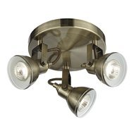 Plafoniera Searchlight Focus Brass
