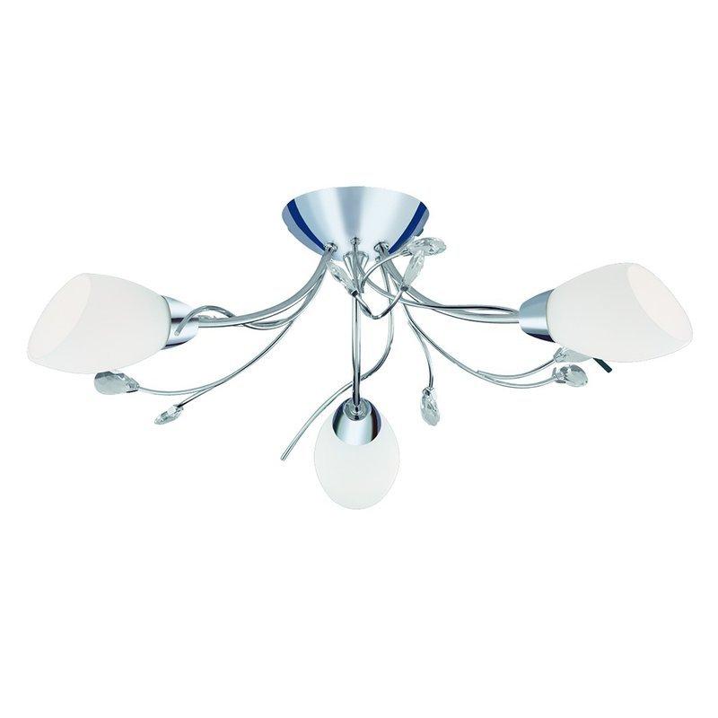 Plafoniera Searchlight Gardenia III