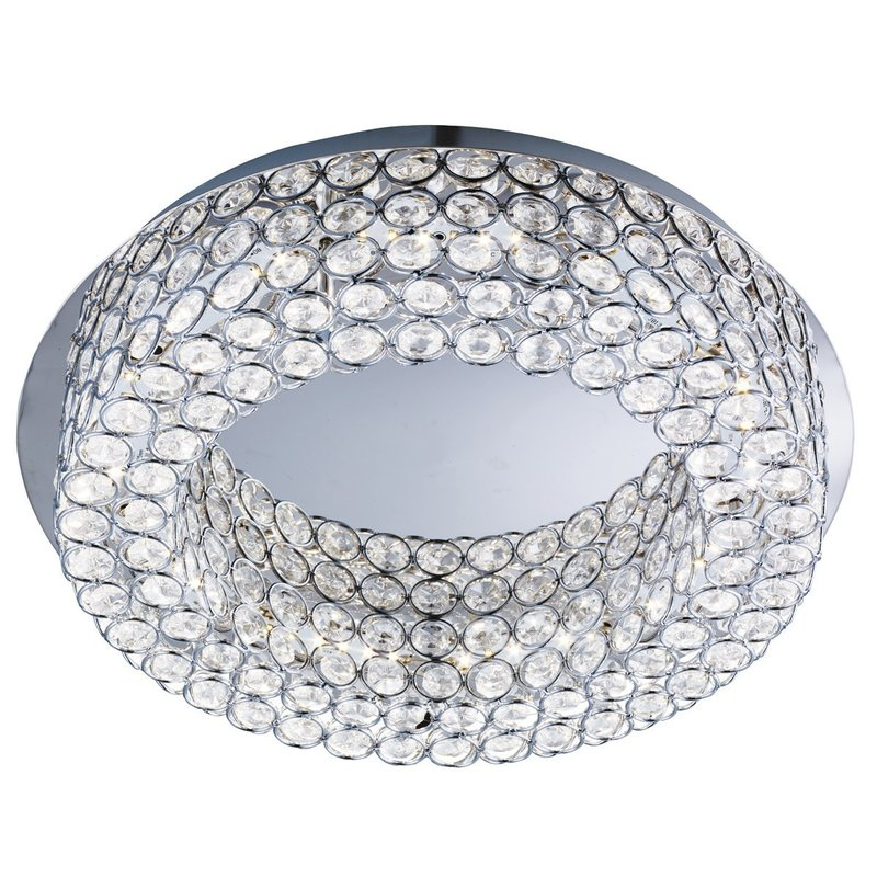 Plafoniera Searchlight Vesta Mirror LED