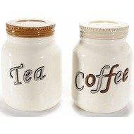Set 2 borcane ceramice Tea&Coffee
