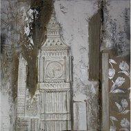 Tablou pictat manual Big Ben