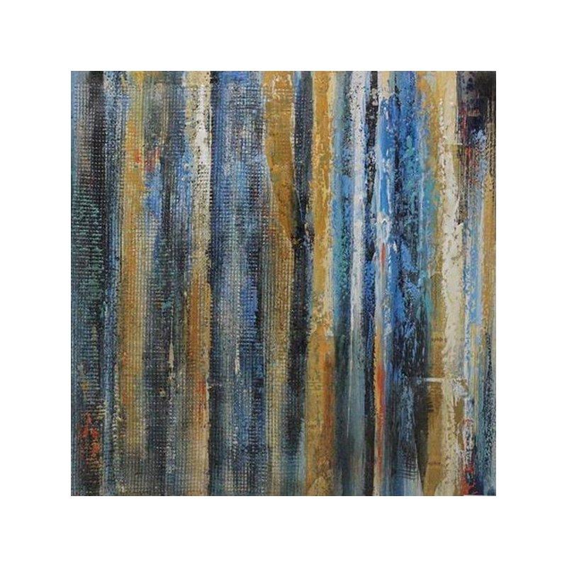 Tablou pictat manual Jubilee, 80x80cm