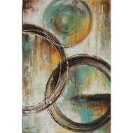 Tablou pictat manual Savant, 90X60cm