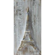 Tablou pictat manual Turnul Eiffel