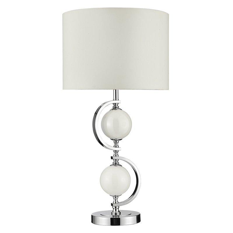 Veioza Searchlight White Glass
