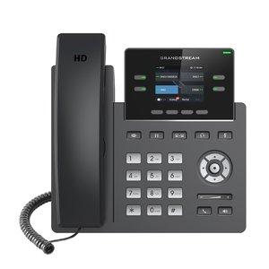 Telefon IP 2 linii, ecran LCD 2,4 inch color Grandstream GRP2612 | GRP2612P | GRP2612W