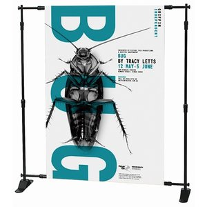 Banner stand cu suport retractabil MacroVision