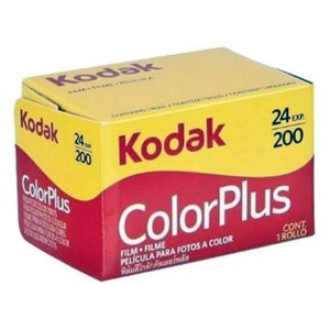 Kodak ColorPlus 200/24 film foto color