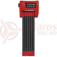 Lacat bicicleta Abus Bordo 6400/90 rosu
