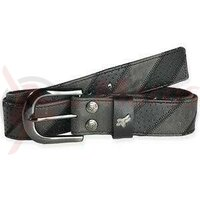 Accesorii Fox M-E-Accessories Hole Out Leather Belt Black
