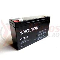 Acumulator stationar Volton OT12-6 6V x 12Ah