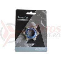 Adaptor Ashima AC02 Centerlock-Disc standard albastru