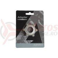 Adaptor frana Ashima AC02 Centerlock-Disc standard gri