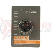 Adaptror Center Lock surub fixare Alligator CLA01, negru