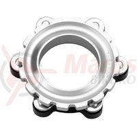Adaptor Centerlock Kross 15 mm silver