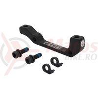 Adaptor etrier fata Shimano Post/Stand 180 mm negru