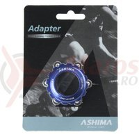 Adaptor frana Ashima AC03XL center lock ultra light albastru