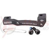 Adaptor montaj pentru etrier frana Shimano SM-MA-F203S/P surub X2 wire X1