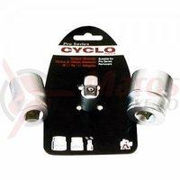 Adaptor pt cheie dinamometrica 1/2-3/8 socket 32/25mm Weldtite