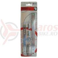 Adaptor roti ajutatoare pentru biciclete su schimbator spate