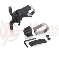 Adaptor universal pt. suport bidon black QR