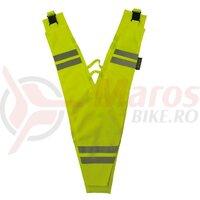 Benzi reflectoare galbene adults safety collar Wowow