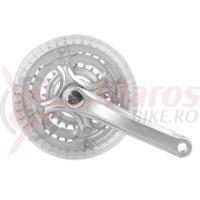 Angrenaj pedalier cromat SXT 26″ 24/34/42 170 mm