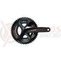 Angrenaj pedalier Shimano 105 FC-R7000 50x34t brat 175mm pt. 11 v pe spate hollowtech 2 fara butuc pedalier