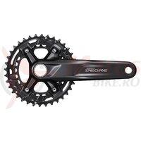 Angrenaj pedalier Shimano Deore FC-M4100-2, 36x26T, 10v