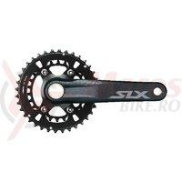 Angrenaj pedalier Shimano SLX FC-M7100-2, 36X26T, brat 170mm, pt. 12 vit. pe spate