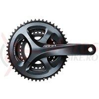 Angrenaj pedalier Shimano SORA FC-R3030, 50X39X30T, Brat 175mm, pt. 9V pe spate, 5-Arm