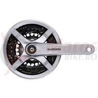 Angrenaj Pedalier Shimano Tourney FC-TY501, 6/7/8V