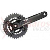 Angrenaj pedalier X5 Fat Bike ax 100mm 36/22T 175 mm