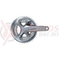 Angrenaj Shimano 105 FC-R7000 50x34T 175mm 11v fara butuc pedalier argintiu