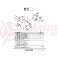 Ansamblu B-Axle Shimano RD-7700-SS