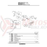 Ansamblu B-Axle Shimano RD-M773