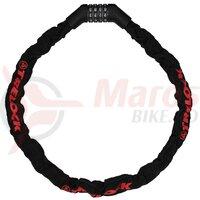 Antifurt bicicleta Trelock BC 215/110/5.5 Code, negru