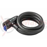 Antifurt cu cheie Extend Circon 15x1200 mm negru