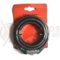 Antifurt curly TS 150/8 Trelock 8x1500mm
