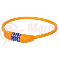 Antifurt M-Wave cifru 12*650mm orange