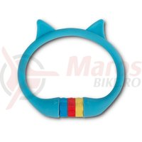 Antifurt RFR Cable Combination Lock HPS 'Cat' 10x350 mm albastru