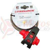 Antifurt Trelock S2 Fixxgo Silver