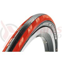 Anvelopa 700x23C Maxxis Detonator black/red 60TPI 1-ply
