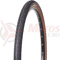 Anvelopa Continental Ride Tour Puncture-ProTection 37-622 28*1 3/8*1 5/8 negru/maro