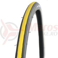Anvelopa Kenda 700x23C galben/negru