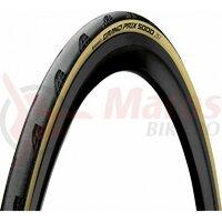 Anvelopa pliabila Continental Grand Prix 5000 25-622 negru/crem - TDF edition