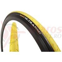 Anvelopa pliabila Continental UltraSport 23-622 (700-23C) galben/negru C