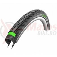 Anvelopa Schwalbe Energizer Plus, Performance Line, Green Guard, 28x1.40 (37-622) B/B+RT, HS427, negru cu dunga reflectorizanta