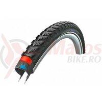 Anvelopa Schwalbe Marathon GT, Performance Line, Dual Guard, 28x1.50 (40-622) B/B+RT, HS475, negru cu dunga reflectorizanta